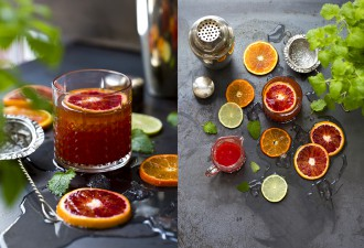 Blood orange negroni - the best cocktail
